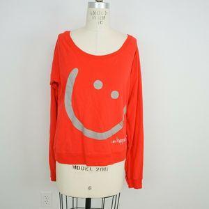 Peace Love World Sweatshirt I Am Happiness